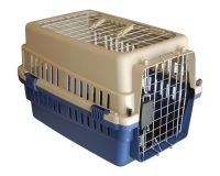 Animal Transport Carrier - XSml, dual access plastic
