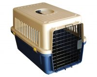 Animal Transport Carrier - Small plastic airline approved