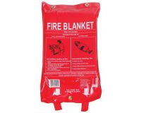 Fire Blanket 1.2m x 1.8m Fibreglass fat cooking kitchen caravan boat stove smother protection