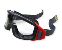 Firestrike Fire Goggle Clear Lens 2 Piece Strap