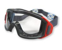 Firestrike Fire Goggle Clear Lens 1 Piece Strap