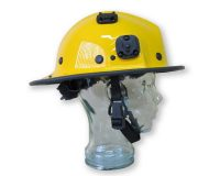 Helmet - Pacific - BR5CV Wide Brim Clip On/Off Visor Helmet Bush Fire