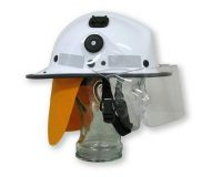 Helmet Pacific BR5 suits Screw On Visor bush Fire
