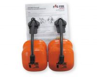 Earmuffs PacFire Cap Attached Class 5 Ear Protection