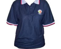 Bush Fire Service Embroidered Polo Shirt Navy