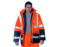 Huski - Venture 918106 Jacket waterproof breathable high-visibility 4 in 1 hi-vis