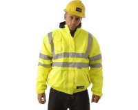 Huski - Quarry 918003 Jacket reversible concealed hood waterproof hi-vis breathable