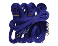Economy Choke Lead Bulk 25 pack - 15mm nylon, 120cm, random colours