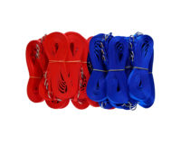 Economy Choke Lead Bulk 100 pack - 15mm nylon, 120cm, random colours