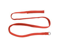 Choke Lead - 20mm nylon, 180cm, red or gold durable