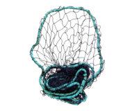 Throw Net – 183cm diameter (6') Durable Mesh Weighted Edge