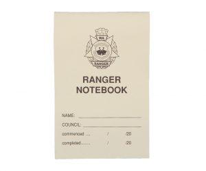 Notebook – Small, WA Ranger Officer