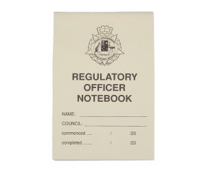 Notebook - Small, Regulatory Officer