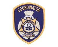Cloth Patch – WA Ranger, Coordinator, Blue