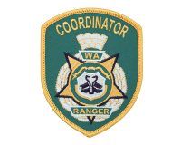 Cloth Patch – WA Ranger, Coordinator, Green