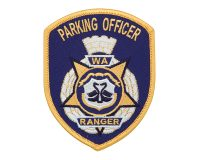 Cloth Patch – WA Ranger, Parking Officer, Blue
