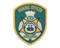 Cloth Patch – WA Ranger, Parking Officer, Green