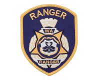 Cloth Patch – WA Ranger, Ranger, Blue