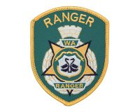 Cloth Patch – WA Ranger, Ranger, Green