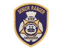 Cloth Patch – WA Ranger, Senior Ranger, Blue