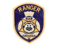 PVC Vinyl Patch - WA Ranger, Ranger, Blue