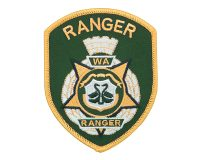 Cloth Patch – WA Ranger, Ranger, Dark Green