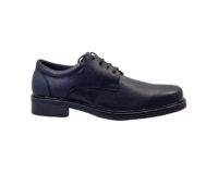 Executive Shoe - T1001 Mens, Black, Soft, TPU Sole