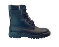 Military Workboot - T4071, Black, DDR Sole, 7 hole, Soft Toe Boots