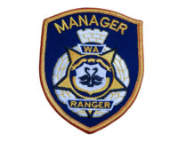 Cloth Patch - WA Ranger, Specialised Wording